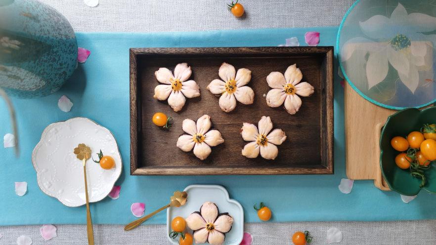 三生三世十里桃花酥,颜值与美味并存,美到醉~~