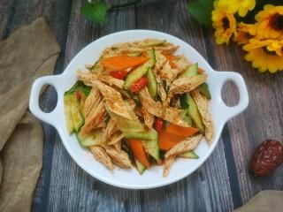 涼拌腐竹黃瓜