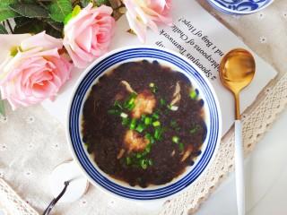 紫菜蝦皮湯