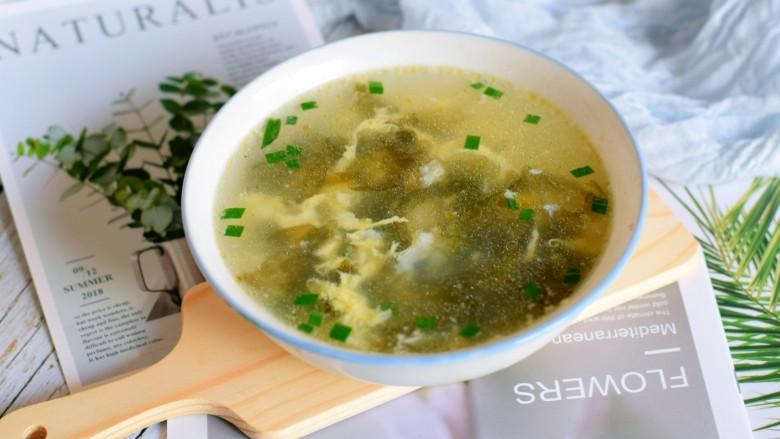 紫菜虾皮汤,😂