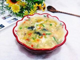 黃瓜皮蛋湯