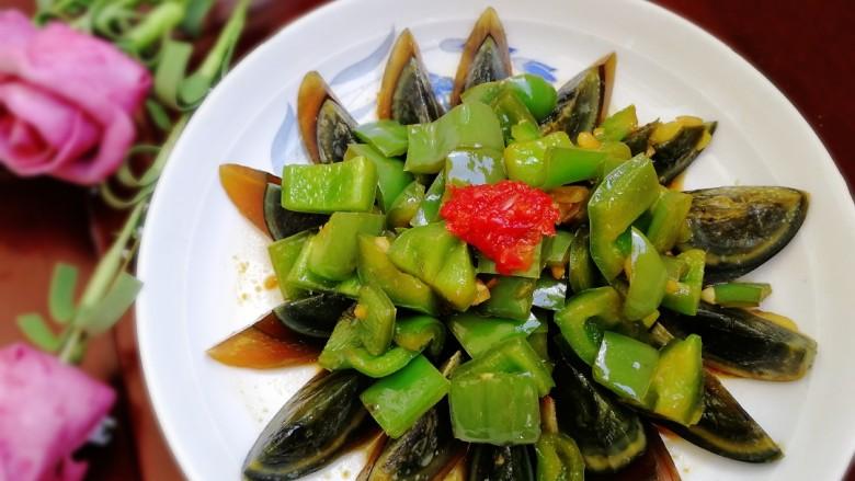 青椒炒皮蛋