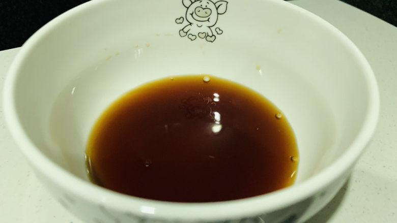 铁板日本豆腐,搅拌均匀;