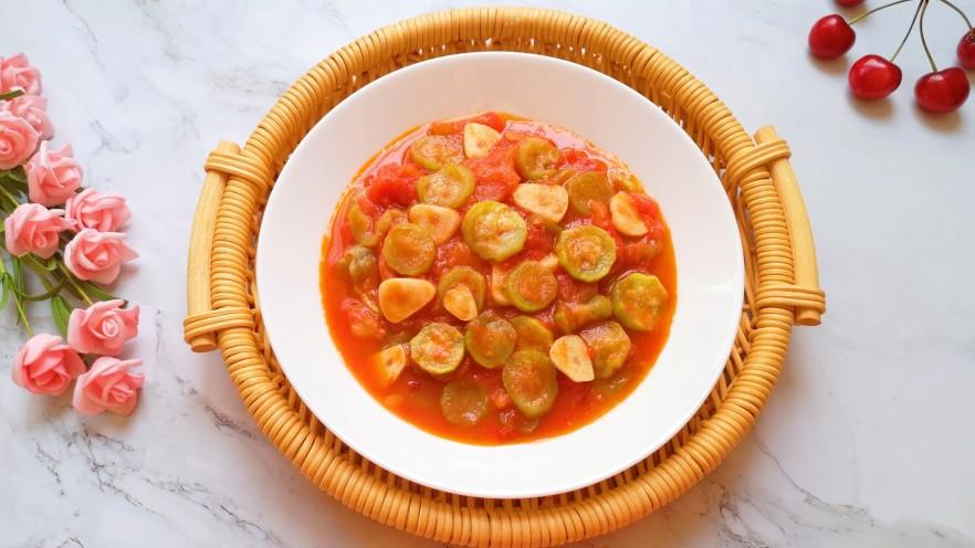 番茄炒丝瓜