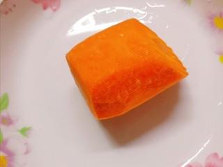 蔬菜饭包,胡萝卜洗净备用