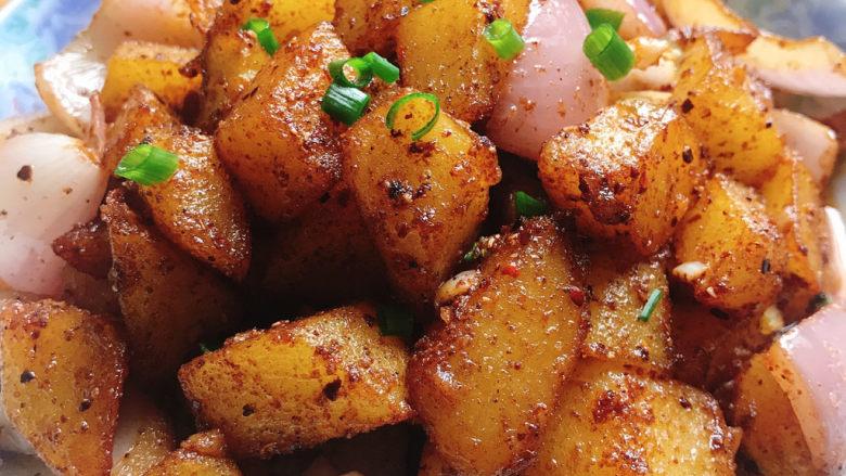 香辣孜然土豆