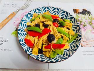 青椒炒腐竹