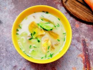 黄瓜皮蛋汤