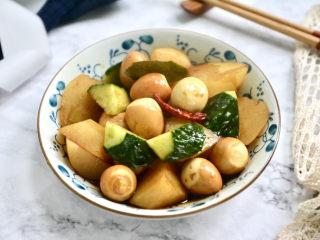 鵪鶉蛋燜土豆