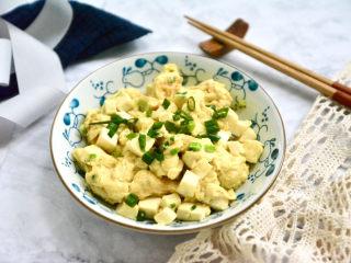 豆腐炒雞蛋