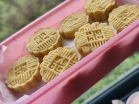 家庭版自制减脂绿豆糕(麻油蜂蜜版,无黄油无白砂糖无麦芽糖)