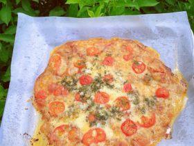 狂野番茄芝士薄底披萨