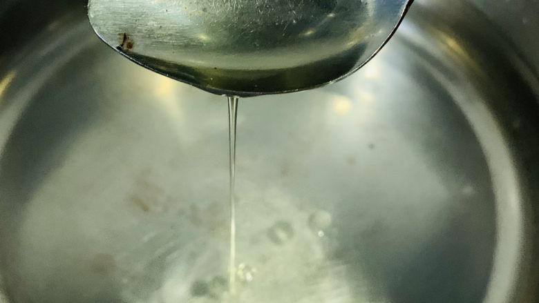 素炒白玉菇,加食用油