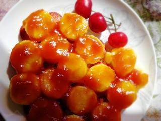 火腿茄汁日本豆腐