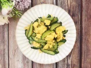 鸡蛋炒青瓜
