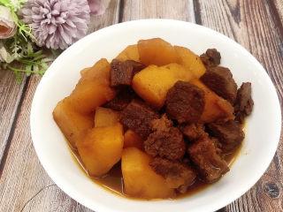 十三香牛腩土豆,成品图
