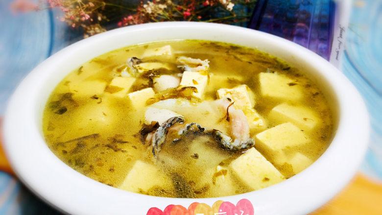 黑鱼豆腐汤,黑鱼豆腐汤,完成