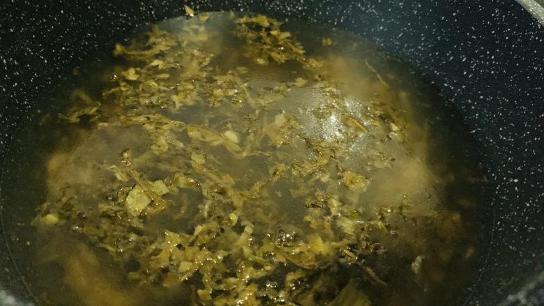 黑鱼豆腐汤,加入清水