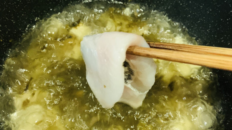 黑鱼豆腐汤,加黑鱼片