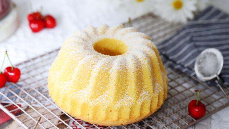 咕咕霍夫海绵蛋糕,成品图