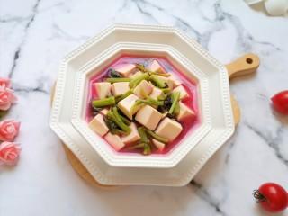 苋菜豆腐汤,味道超赞。