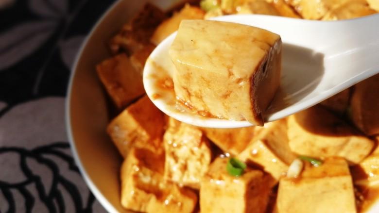 家常烧豆腐,香味扑鼻,嫩滑无比,下饭神器。