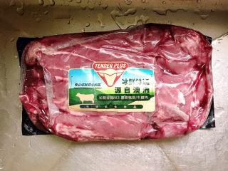 牛腱子炖萝卜,准备好牛腱子肉