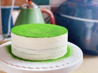 抹茶千層蛋糕