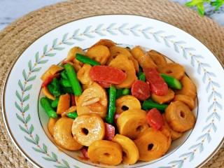 红烧素鸡,早餐一碗白粥,营养又美味。