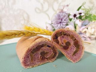 紫薯提子包