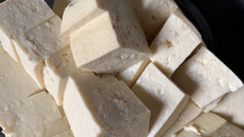 家常烧豆腐,备用
