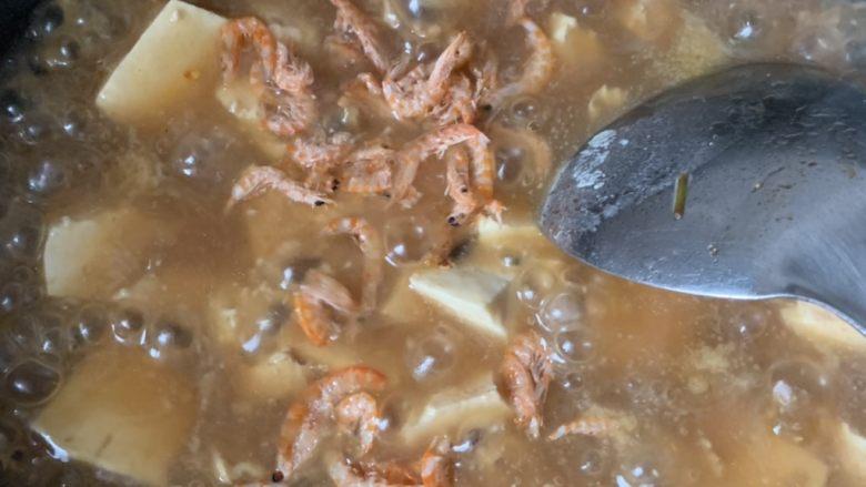 家常烧豆腐,放虾米
