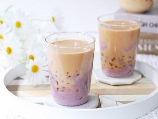 芋泥波波奶茶