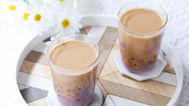 芋泥波波奶茶,图二