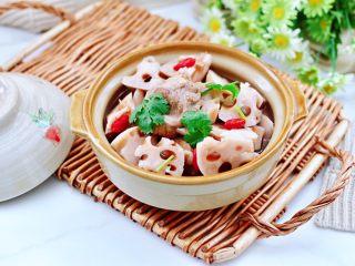 排骨藕汤,成品
