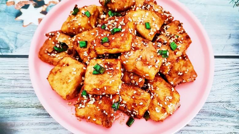 家常烧豆腐,家常烧豆腐成品图