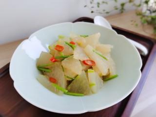 清炒冬瓜片