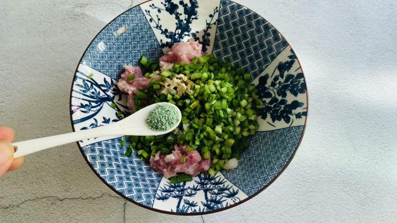 韭菜锅贴,蔬之鲜