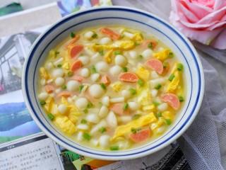 白玉菇鸡蛋汤,超级鲜美!