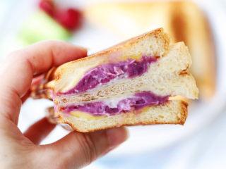 芋泥芝士三明治,图二