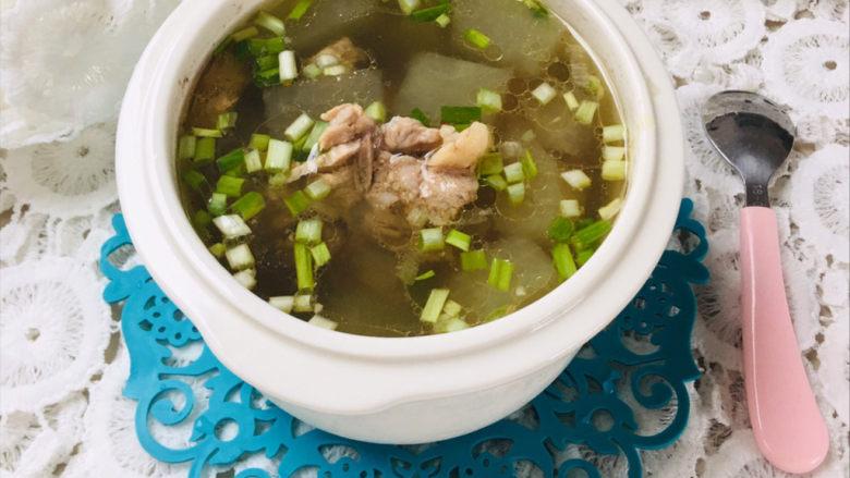 排骨冬瓜汤,清淡既有营养的排骨冬瓜汤就做好啦