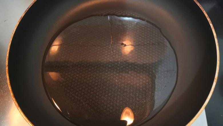 广式萝卜糕,热锅起油