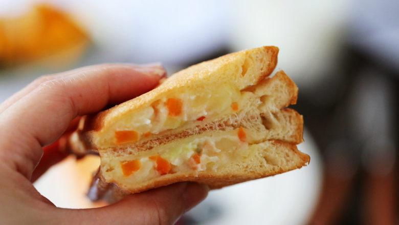 土豆泥沙拉三明治,图二