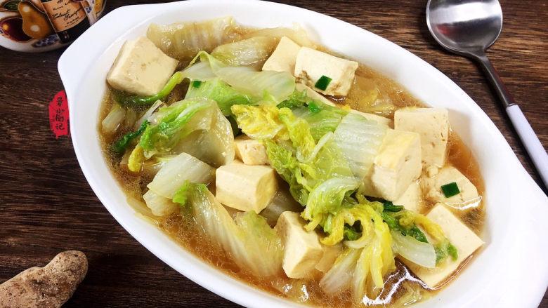 白菜炖豆腐,次次都光盘~~~~