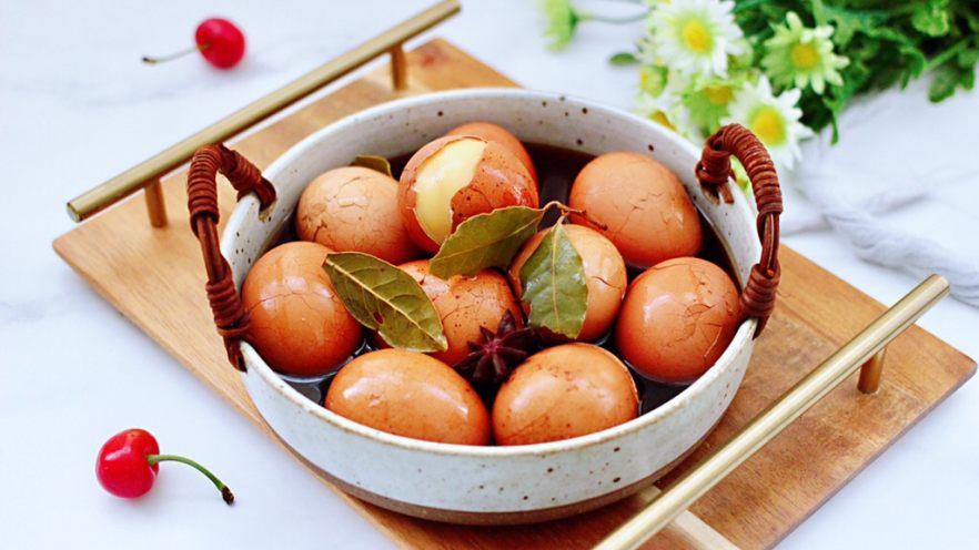 乌龙茶香卤鸡蛋