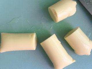 脆皮日本豆腐,倒出来