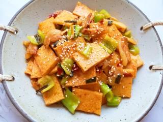 干锅千叶豆腐,超级好吃。