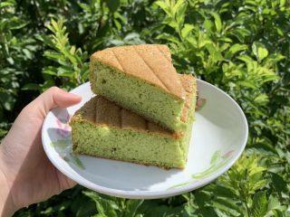 菠菜海绵蛋糕