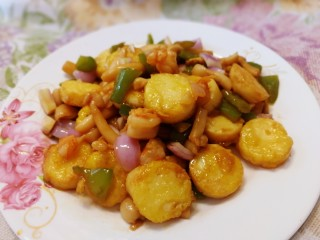 脆皮日本豆腐