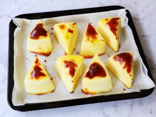 烤牛奶,烤至表面焦黄色即可